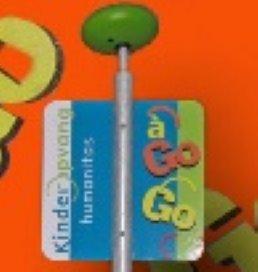 Nieuw: á go-go-paal voor op het schoolplein