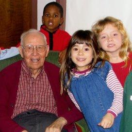 Kinderen en ouderen hebben baat bij ontmoeting