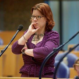 GroenLinks Kamerlid en woordvoerder kinderopvang Linda Voortman