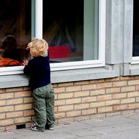 Het kind op deze foto heeft niks met het voorval in Amsterdam te maken.