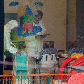 Commotie tijdens proces crèchemoord België