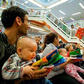 Liever praten dan voorlezen tegen baby's