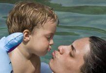 'Kinderen voelen intuïtief heel goed wie ze speciaal vinden en daarom een zoen op de mond willen geven
