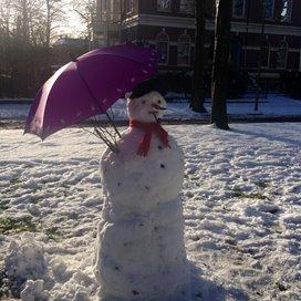 Sneeuwpret bij SKSG