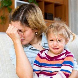 Depressieve ouders beïnvloeden ontwikkeling kind.