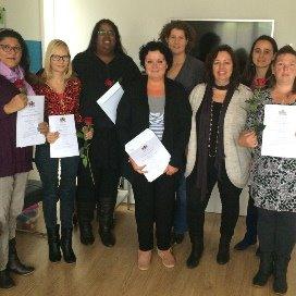 Certificaten 'Vreedzame methode voor Gastouders' uitgereikt