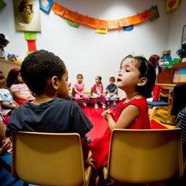 Twee- en driejarigen kinderen in Rotterdam in de nulgroep.