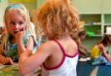 Engelse les voor peuters in Hoogland