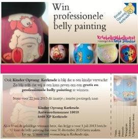 Blog Jolanda Rikers - Gratis Belly Painting