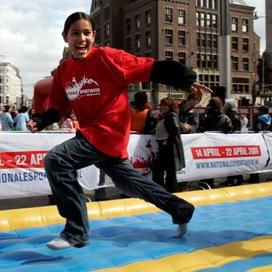 Ruim 1000 kinderen aan de start van SKL KidsRun