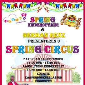 Komt dat zien… Circus Spring!