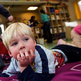 Kinderopvang iets goedkoper in 2014
