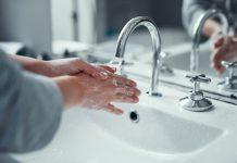 handen wassen hygiëne kraan