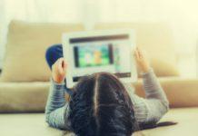 social media tablet educatie